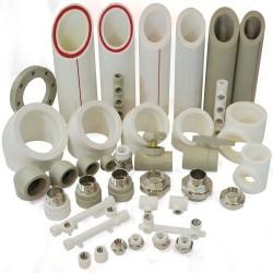 Трубы и фитинги пластиковые (полипропиленовые, ППР) для отопления, водоснабжения